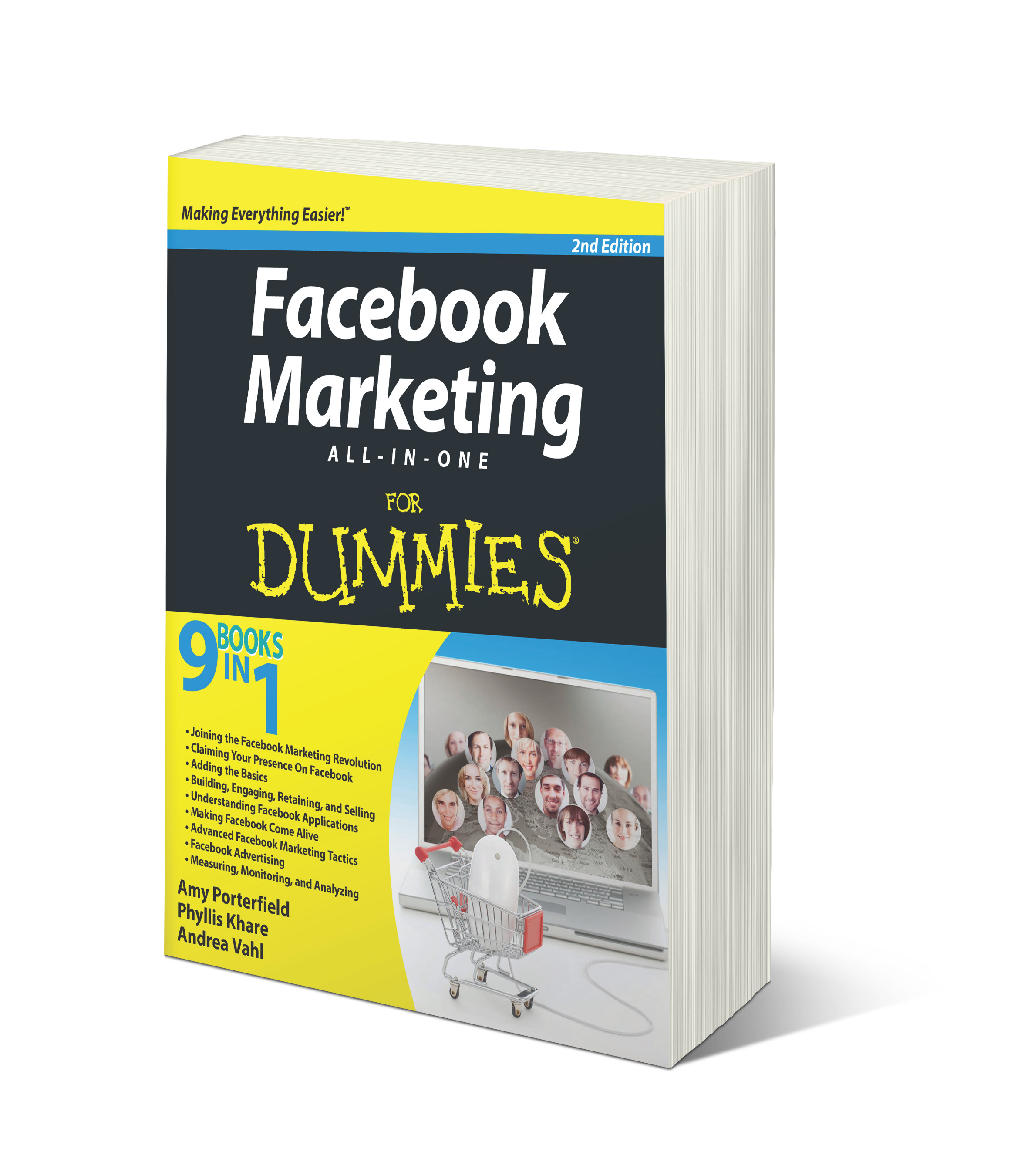 Facebook Marketing Al-In-One for Dummies - Phyllis Khare, Amy Porterfield, Andrea Vahl