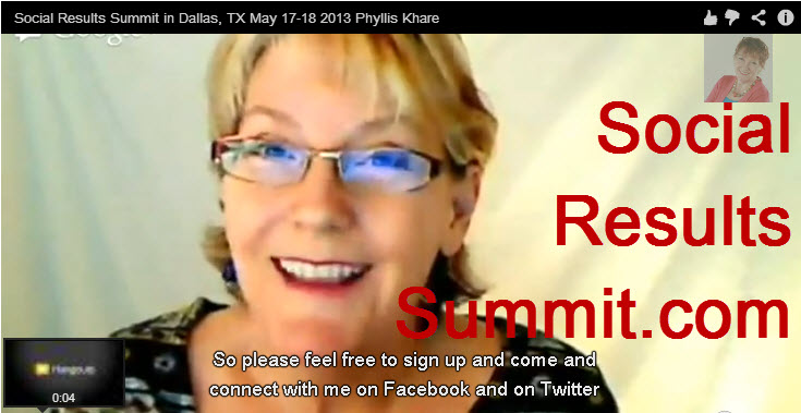 Social Results Summit Phyllis Khare