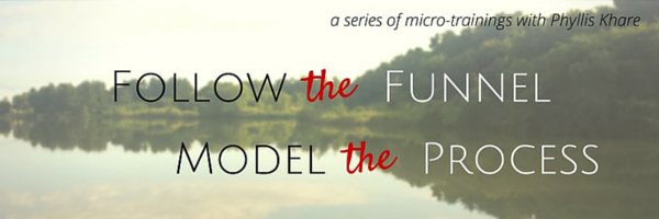 Follow the Funnel micro-training series