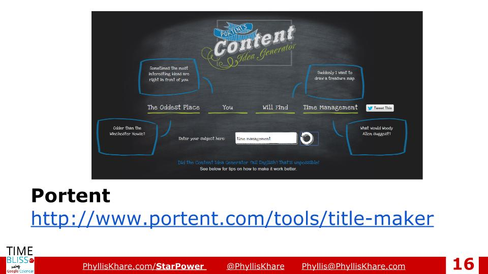 How to write titles that people will click 4 of my for Portent title maker